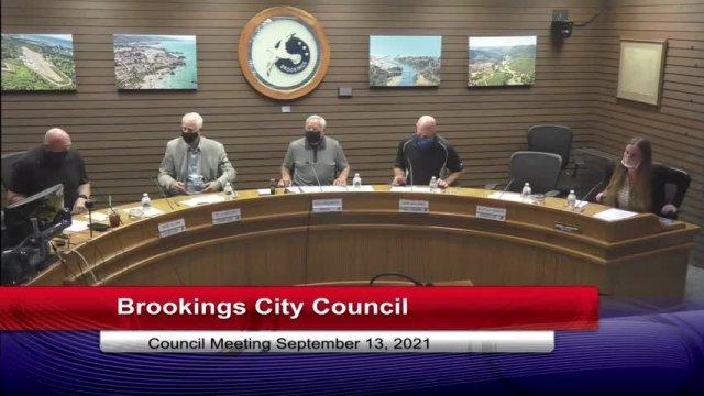 September 13, 2021 City Council Meeting