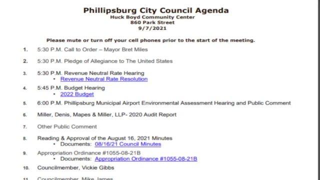 City Council Meeting 09/07/2021