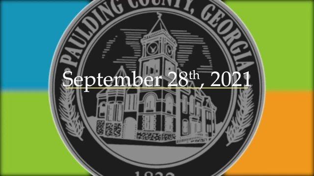Board Meeting - September 28th, 2021