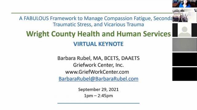 Managing Compassion Fatigue, Secondary Traumatic S