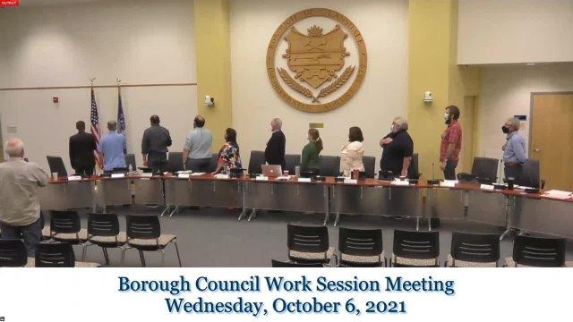 2021 October Work Session