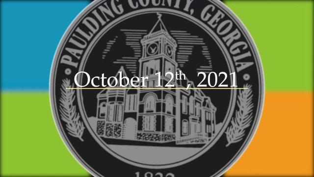 Board Meeting - October 12, 2021