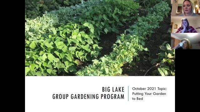 Gardening Workshop October 12, 2021