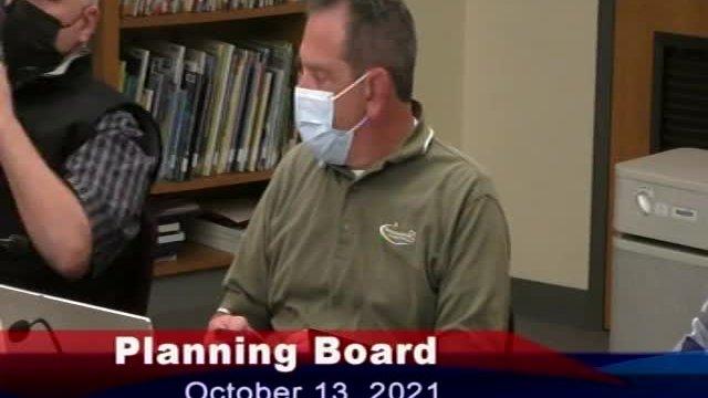 Planning Board 10-13-2021