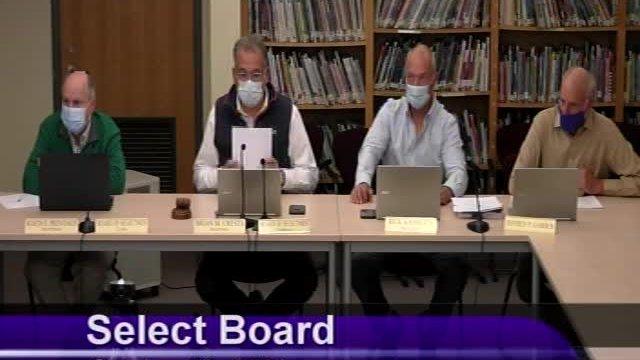 Select Board 10-19-2021