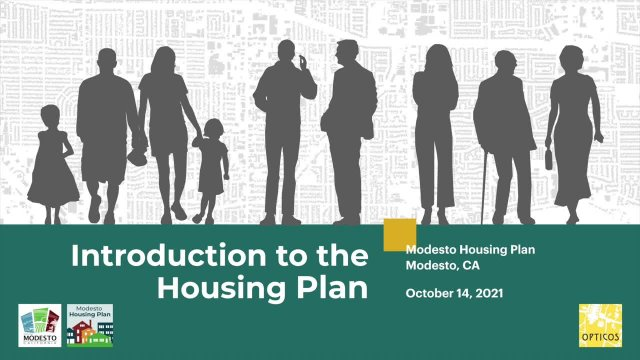 Introduction Housing Plan, October 14th, 2021