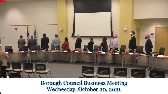 October 2021 Business Meeting