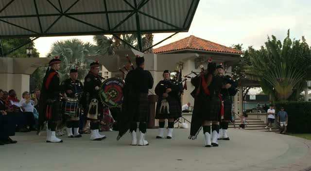 Brevard Police and Fire Pipes & Drums