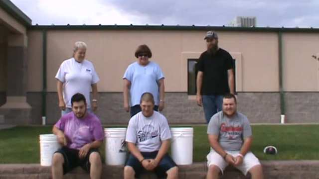 Ice Bucket Challenge - Activities Department