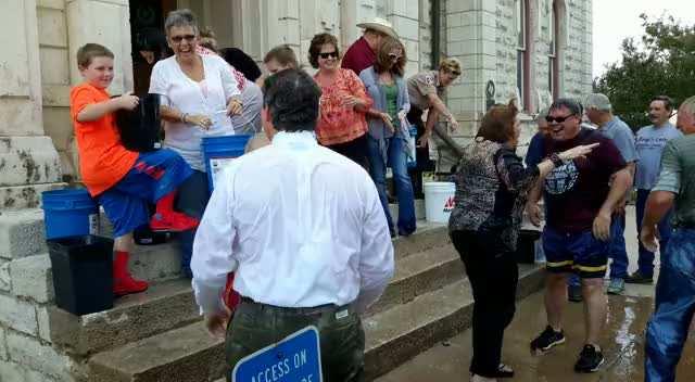 Parker County ALS Ice Bucket Challenge