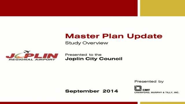 Joplin Regional Airport Master Plan Report