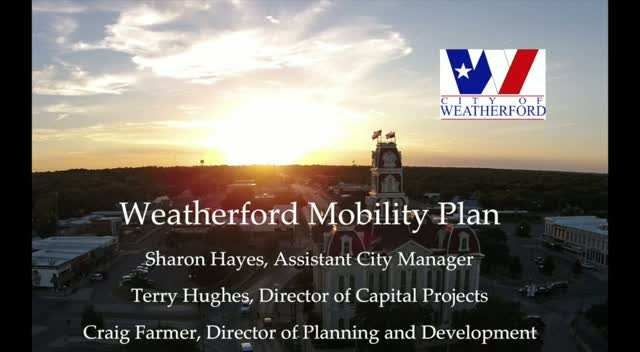 Weatherford Mobility Plan