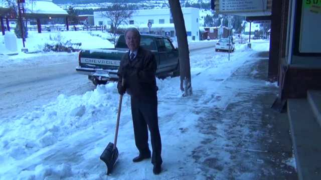 Williams Lake Mayor Walt Cobb On Cleaning Up Snow