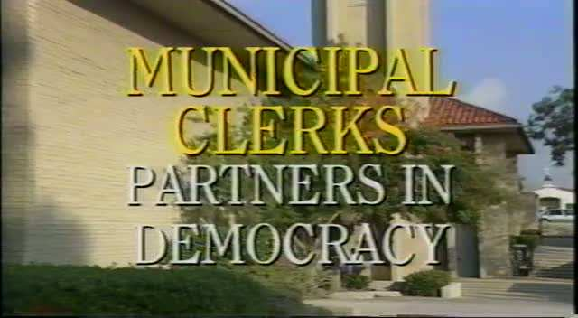 Municipal Clerks Week