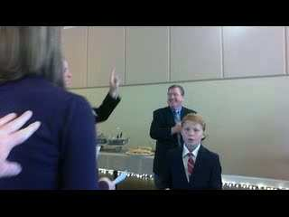 Swearing in of Town Manager
