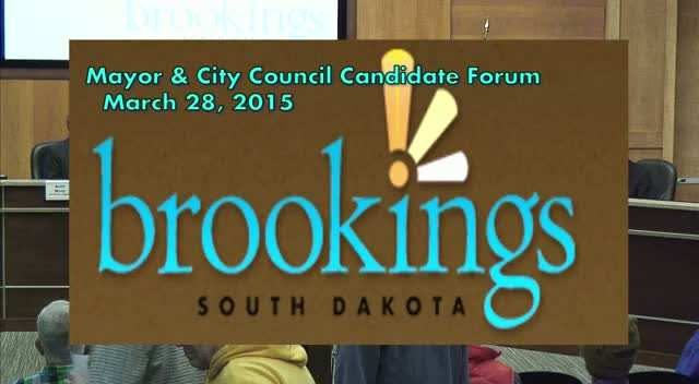 City Council Candidate Forum - March 28, 2015