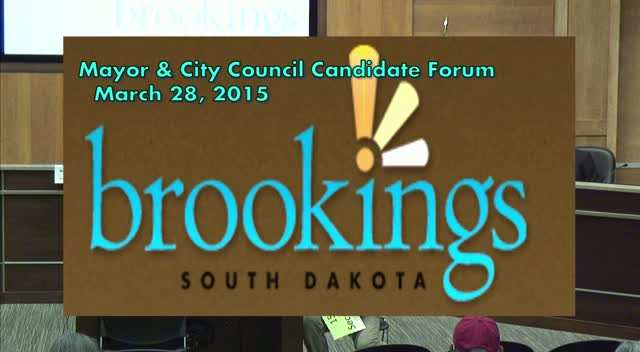 Mayoral Candidate Forum - March 28, 2015