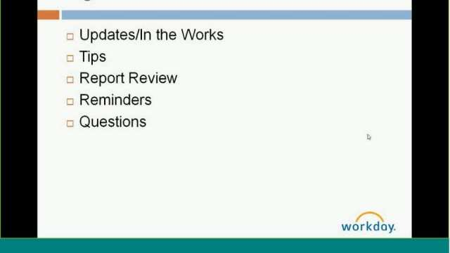 Financials Webex Monthly Check-in May 2015