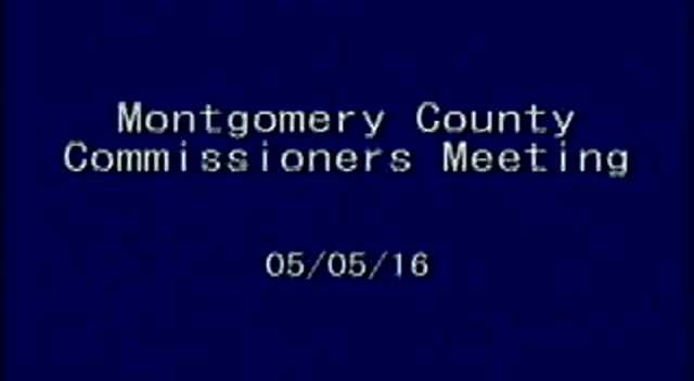 05-05-2016 Commissioners Meeting