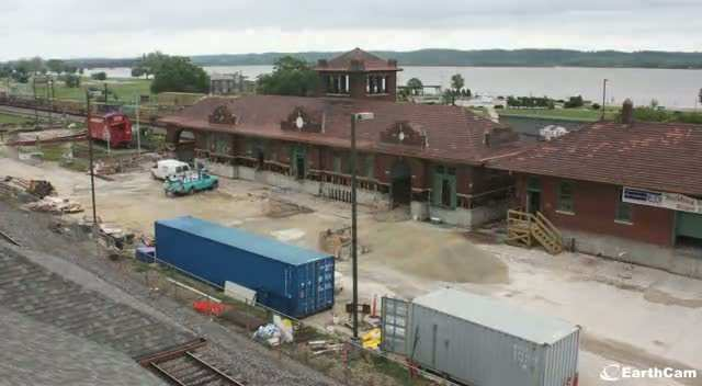 Time Lapse of Depot Renovation