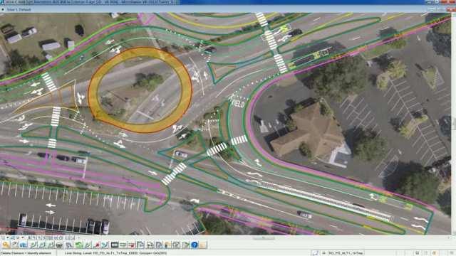 Traffic simulation Ben Sawyer to Coleman Blvd.