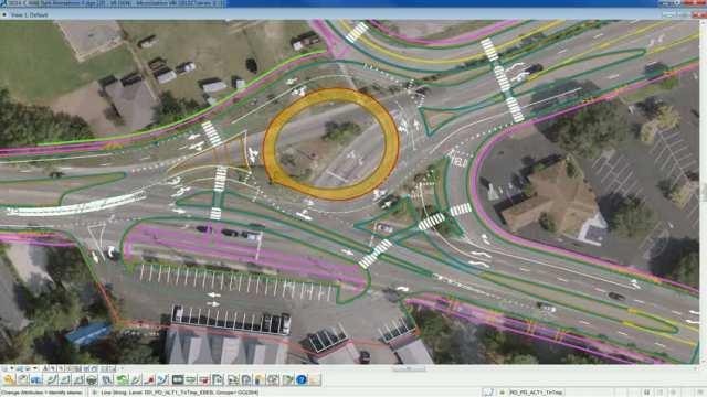 Traffic simulation Truck EB Coleman & Parking