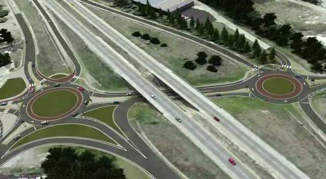 IL 158 13/15 roundabouts