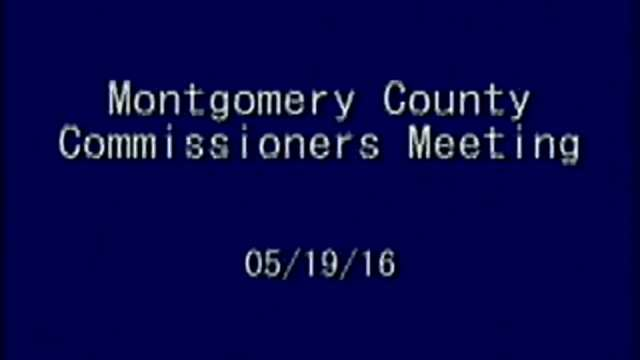 05-19-2016 Commissioners Meeting