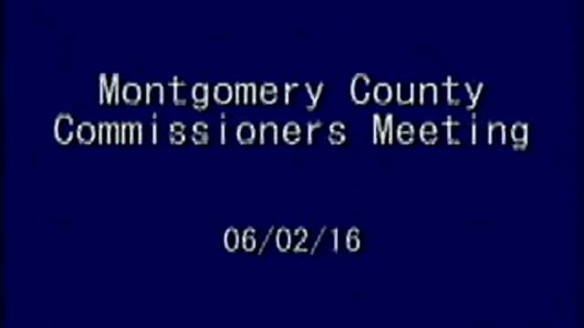 06-02-2016 Commissioners Meeting