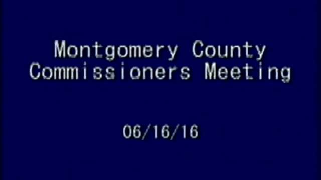 06/16/2016 Commissioners Meeting