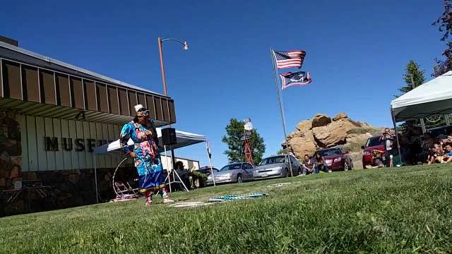 Lakota Hoop Dancer Starr Chief Eagle