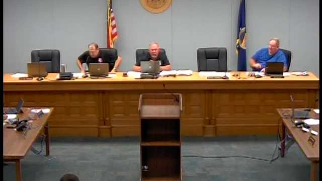 Franklin County Commission Meeting 7.27.16