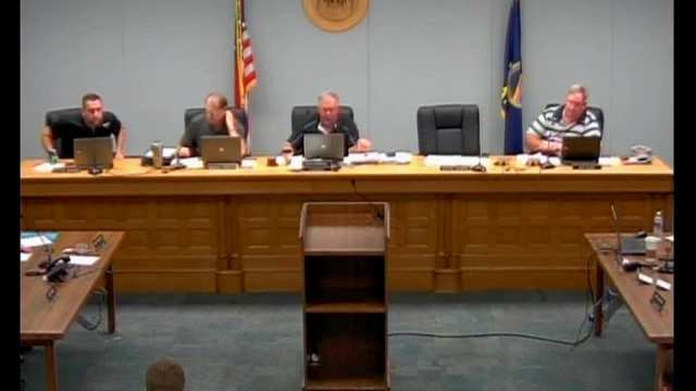 Franklin County Commissioners Meeting 08.03.2016