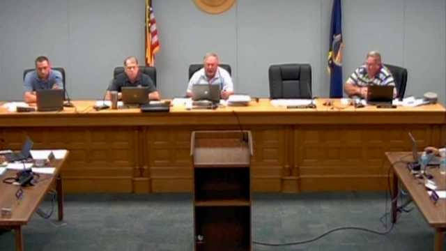 Franklin County Commission Meeting 08.10.2016