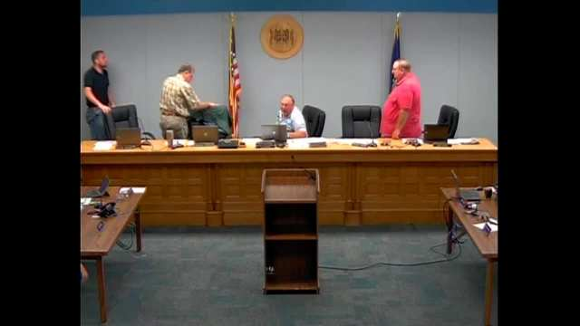 Franklin County Commission Meeting 08.24.2016