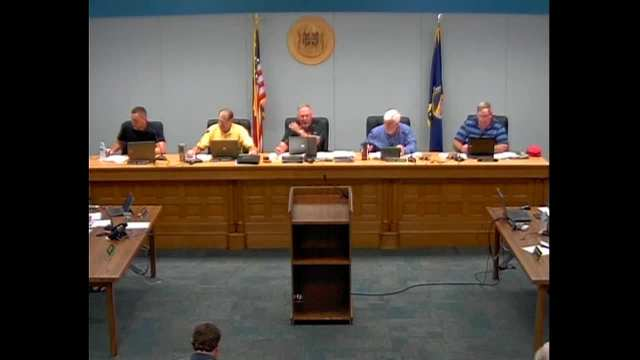 Franklin County Commission Meeting 8.31.16