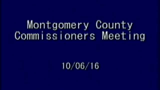 10/6/2016 Commissioners Meeting